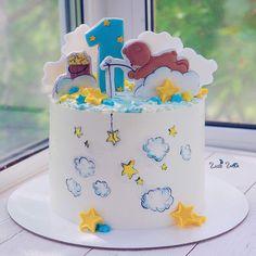 1,532 отметок «Нравится», 13 комментариев — Elena Elkina-Kovaleva (@glavgnom) в Instagram: «Мишка-малышка ловит звёздочек на живца  Прянички от @get_biscuit  #glavgnom #glavgnom_cake…»