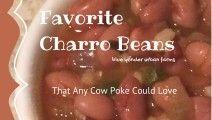 Favorite Charro Beans   Blue Yonder Urban Farms   by Karen Coghlan   #byuf #blueyonderurbanfarms #karencoghlan #charro #beans #cowboy #recipe   http://blueyonderurbanfarms.com/7850/favorite-charro-beans