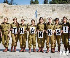 THANKS IDF