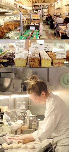 rose-bakery - Paris Paris Bakery, Bakery Cafe, Cafe Restaurant, French Bakery, French Pastries, Polenta, Tasty Bread Recipe, Good Bakery, Shop Till You Drop