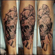 Clock.....skull