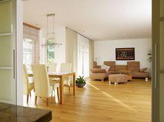 Halboffener Bereich Küche / Wohnzimmer