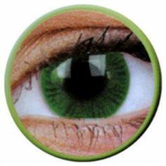 Lentile de contact colorate verzi Basic Green - http://lensa.ro/lentile-contact-colorate/basic/basic-green