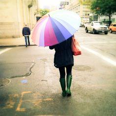 cores para dias de chuva