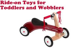 Favorite Ride-on Toys For Toddlers And Wobblers