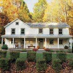 exterior of this fully remodeled and sustainable farmhouse