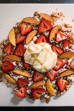Watch and learn how to make cornmeal funnel cake from scratch and then decorate it with two fun topping variations.