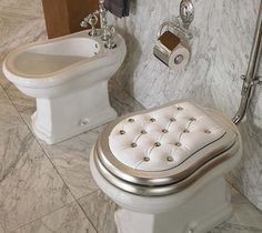 Umm yeah, this bathroom is awesome! Because a bidet is on the list along with a laundry chute.