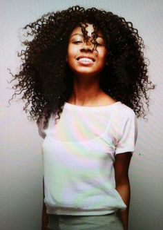 Singer, India Benet.   Read her hair story here... http://www.thegoodhairblog.com/2012/07/captured-curls-india-benet.html