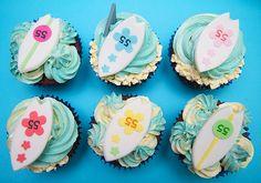 Surf Cupcakes!
