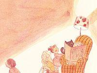 Time to read ... Illustration - Simona Ciraolo