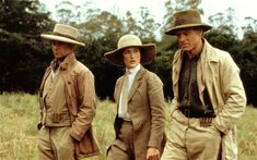 Michael Kitchen, Meryl Streep, and Robert Redford in Out of Africa
