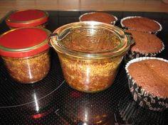 Bounty-Kuchen im Glas