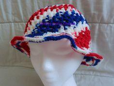 American Sun Hat (crochet)