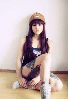 #tattoo #tattooed #tattooedgirls #tattoosforgirls