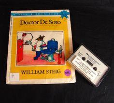 Doctor De Soto by William Steig Audio Book & Cassette Set Mouse Dentist DeSoto