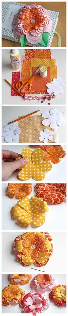 cute easy paper flower