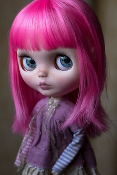 OOAK Vera custom Blythe envío incluido por CustomByLauraDiaz
