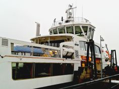 Suomenlinna Ferry, Helsinki, Finland (February 2014)