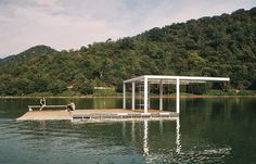 David Giorgadze Architects · Floating Pier For Water Skiing