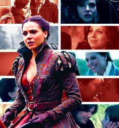 Regina Mills/The Evil Queen  OUAT. I like her, I feel bad for her... I want her to be good!