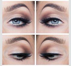eye makeup | eyeshadow | eyeliner | mascara | pretty