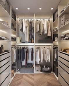 small closet ideas, Closet Designs, wardrobe design, walk-in closet ideas, dressing room ideas Walk In Closet Design, Bedroom Closet Design, Master Bedroom Closet, Small Walk In Closet Ideas, Bedroom Storage, Walk In Closet Inspiration, Small Master Closet, Attic Inspiration, Master Room