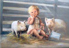 Dianne Dengel Paintings :: little boy image by Ran87dle…