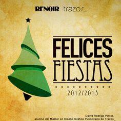 Felicitación de Navidad de 2013 realizada por el alumno David Rodrigo Pintos. Para más información sobre el Máster en Diseño Gráfico, clica en la imagen.