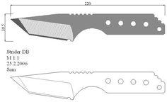 Чертежи ножей 10 вариантов (ст.24) Cool Knives, Knives And Swords, Blacksmith Tools, Blacksmith Projects, Horseshoe Crafts, Horseshoe Art, Knife Drawing, Knife Template, Knife Patterns