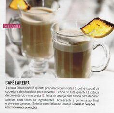 Receita da Revista Manequim. Delícia para os dias mais frios...