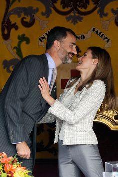 Prince Felipe and Crown Princess Letizia of Spain