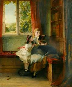 Ill prepared      A good read      Spell-bound, 1879      Children at the Tower      The task      A peaceful moment       George Bernard ...