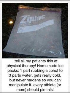 DIY gel pack!
