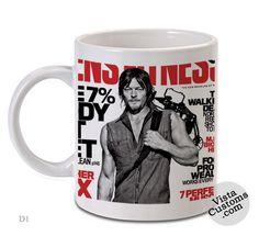 Norman Reedus, Coffee mug coffee, Mug tea, Design for mug, Ceramic, Awesome, Good, Amazing