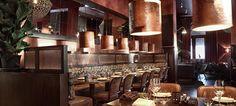 Oliver's Interior Design by AB design studio || modern space, restaurant design, inspirational space, gorgeous interior design, lighting interior decor, kitchen inspirations  | #interiordesign #bestrestaurant #restaurantdesign #interiordecor #inspirations #hospitalityfurniture | FULL ARTICLE: http://brabbucontract.com