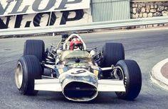 Monaco 1969 . Jo Siffert , Lotus 49B Ford.