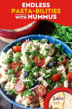 Caprese Pasta Salad, Pasta Salad Recipes, Guacamole Recipe, Hummus Recipe, Vegetarian Recipes, Cooking Recipes, Healthy Recipes, Baker Recipes, Veggie Recipes