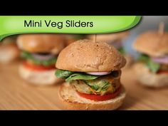 Learn how to make Mini Veg Sliders, a delicious and irresistible snack recipe by Ruchi Bharani. 'Happiness comes in small packages,' if you believe so, then you would totally love these delicious a...