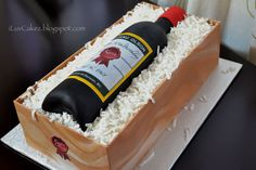 wine bottle cake   Wine Bottle Cake (Karin's Birthday Cake) Wine Bottle Cake, Wine Rack, Birthday Cake, Cakes, Food, Cake Makers, Birthday Cakes, Kuchen, Essen