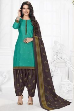 Patiyala Dress, Daily Wear, Printed Cotton, Duster Coat, Suits, How To Wear, Jackets, Collection, Dresses