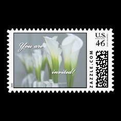 Invited Postage Stamp