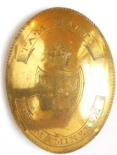 Gilt engraved SBP