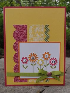 CCMC153 Hello Blossoms by Lisa Martz - Cards and Paper Crafts at Splitcoaststampers