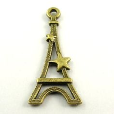 70pcs antiqued bronze alloy eiffel tower shaped charms pendants findings 31096