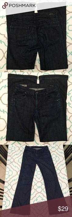 CoH Size 26 Hemmed!! 2 Pairs!! SEE DESCRIPTION!!!! 💙Preloved Coh jeans. Dark Wash. Oh So Soft. One pair has been hemmed twice, 2nd hem was let out again. Couple snags from 2nd hem. See pictures!!! 2nd pair has been hemmed with original hem but is faded and worn at new seam, with a little fray on bottom. Both Size 26. Wear these as is, hem them to wear with flats, or cut them off into capris. Selling as Pair Only. So soft. So nice. Feel of premium denim. Awesome Look! Great Stretch! Minimal…