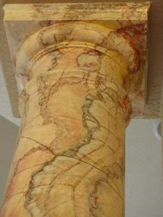 painting of a column | Onyx Faux Marble 3 by Art-Faux Design Inc ™
