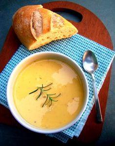 Sopa creme de mandioquinha com cenoura super rápida Veggie Recipes Healthy, Best Soup Recipes, Vegetarian Recipes, Vegan Dinners, Going Vegan, Food And Drink, Cooking, Vegan Soup, Foods