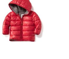 Old Navy Hooded Fleece Lined Quilted Jacket For Baby Size 0-3-612  Month New #oldnavy #Jacket #Everyday