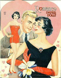 Romance Paper Dolls 1950s